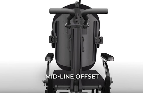MONO Backrest System - Midline Offset